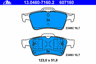 Задние колодки + задние тормозные диски на P12-ate_13.0460-7160.2.png