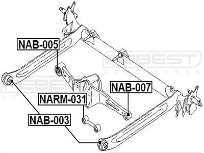 Nissan Primera P11 (кат.номера