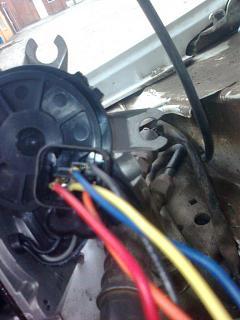 Отчет устанавливаем  моторчик привода дворников с hyundai accent на Р11-foto0333.jpg
