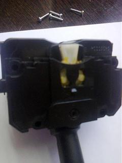 Отчет по ремонту переключателя поворотов (включения/ выключения габаритов и ближнего-4.jpg