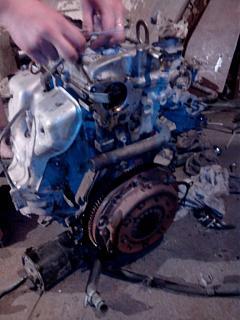 Двигатель Ниссан Примиера на ВАЗ 2109-img_20140519_220321.jpg