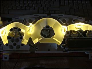 Спидометр и передняя консоль - Снятие. Замена ламп в приборной панели Р11.-e4a69d4c74fd.jpg