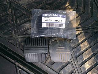 Бюджетные накладки на педали ниссан примера р12-2.jpg