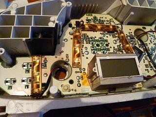 Спидометр и передняя консоль - Снятие. Замена ламп в приборной панели Р11.-5.jpg