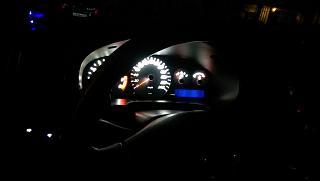 Установка светодиодов в панель приборов Р11-144 и во все кнопки в машине.-30.jpg
