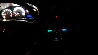 Установка светодиодов в панель приборов Р11-144 и во все кнопки в машине.-34.jpg