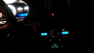 Установка светодиодов в панель приборов Р11-144 и во все кнопки в машине.-35.jpg