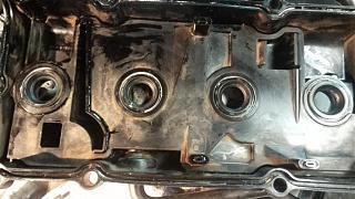 Замена сальников свечных колодцев на оригинал. Двигатель QR20DE.-zapresovka_5.jpg