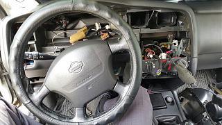 Установка светодиодов в панель приборов Р11 + в печку,  и во все кнопки в машине.-7.jpg