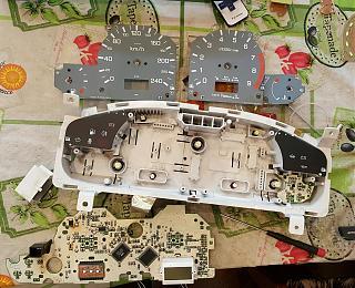 Установка светодиодов в панель приборов Р11 + в печку,  и во все кнопки в машине.-1.jpg