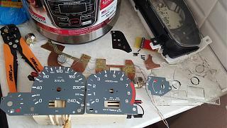 Установка светодиодов в панель приборов Р11 + в печку,  и во все кнопки в машине.-2.jpg