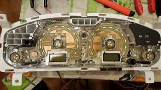 Установка светодиодов в панель приборов Р11 + в печку,  и во все кнопки в машине.-4.jpg