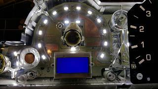 Установка светодиодов в панель приборов Р11 + в печку,  и во все кнопки в машине.-3.jpg