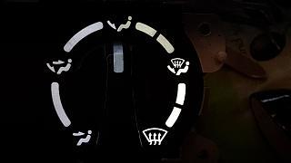 Установка светодиодов в панель приборов Р11 + в печку,  и во все кнопки в машине.-13.jpg