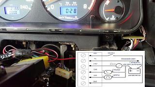Установка светодиодов в панель приборов Р11 + в печку,  и во все кнопки в машине.-9.jpg