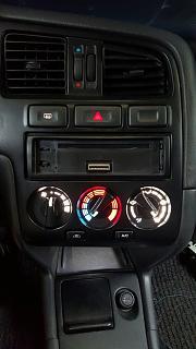 Установка светодиодов в панель приборов Р11 + в печку,  и во все кнопки в машине.-11.jpg