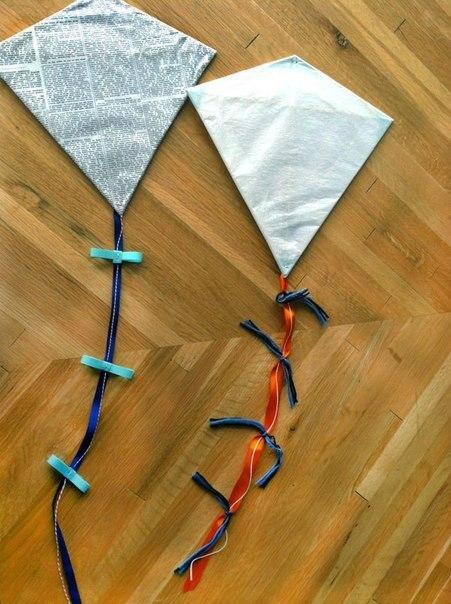 Как сделать летучий змей своими руками из бумаги
